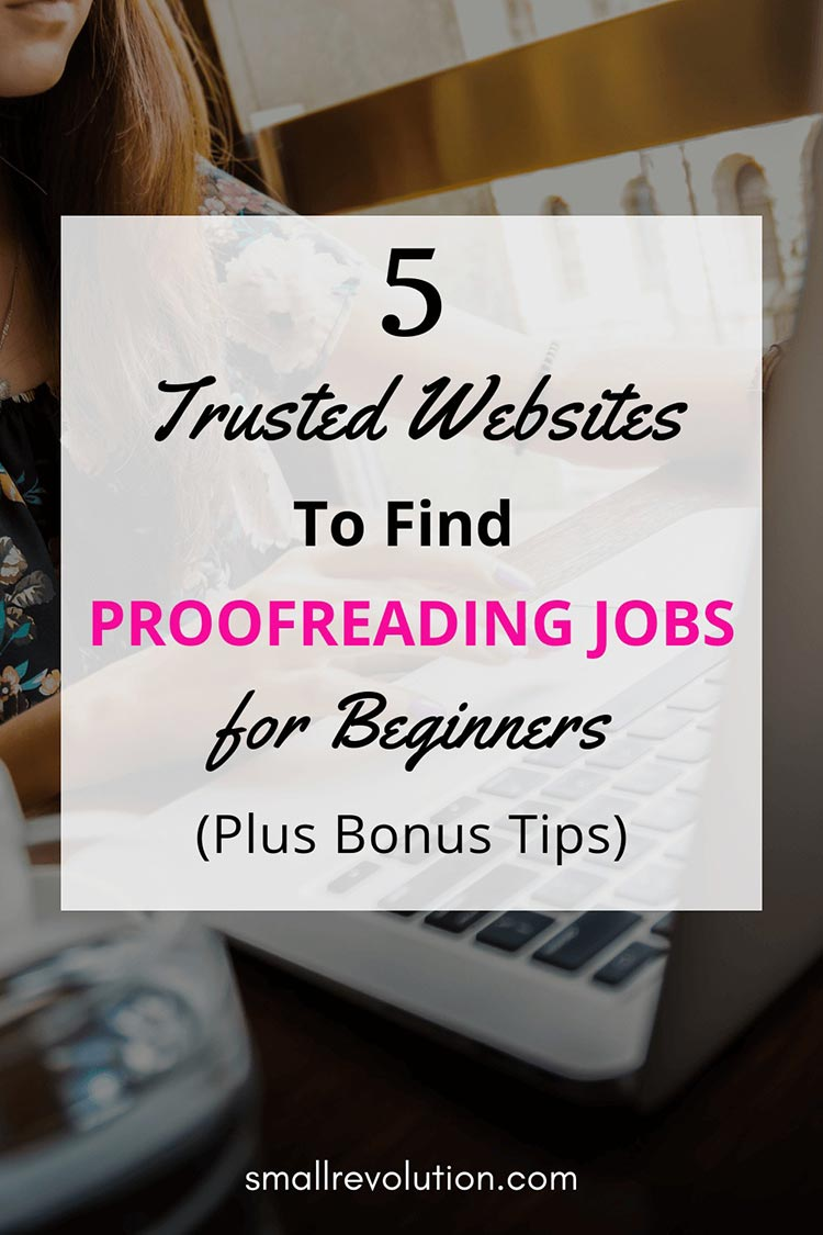 5 trusted websites to find proofreading jobs for beginners