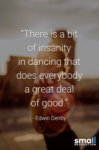 Edwin Denby quote