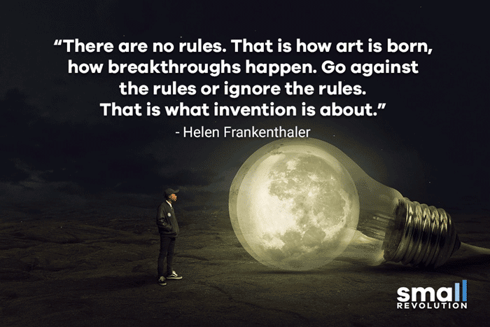 Helen Frankenthaler quote