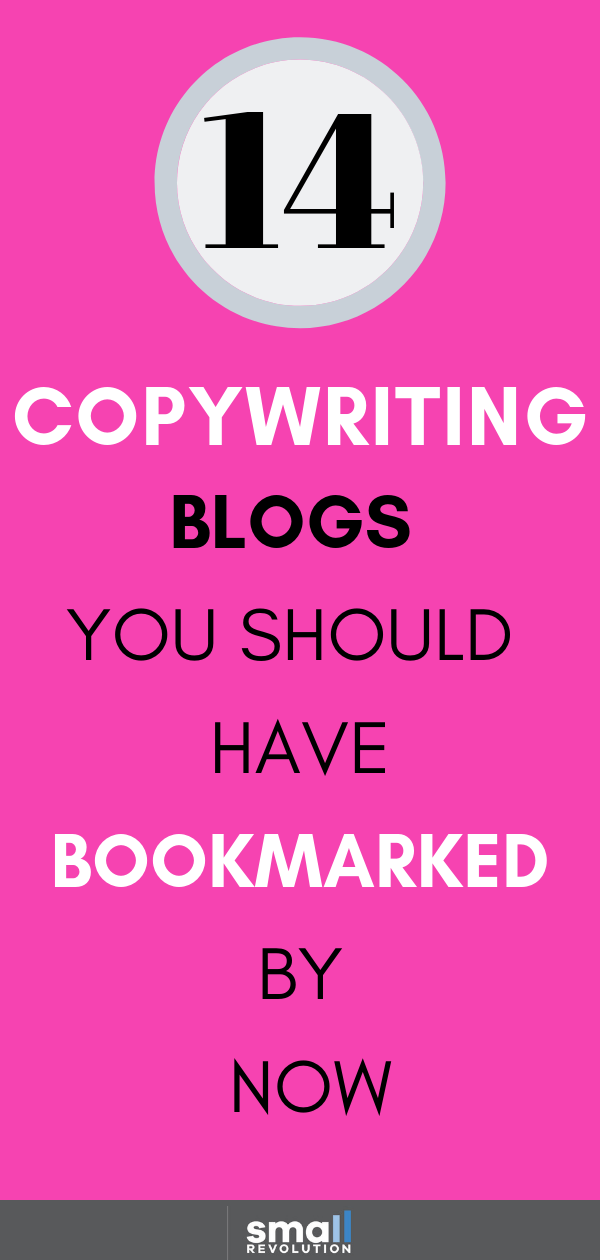 14 Copywriting blogs you should have bookmarked by now