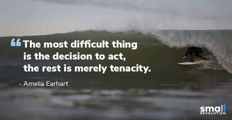 Amelia Aerhart quote