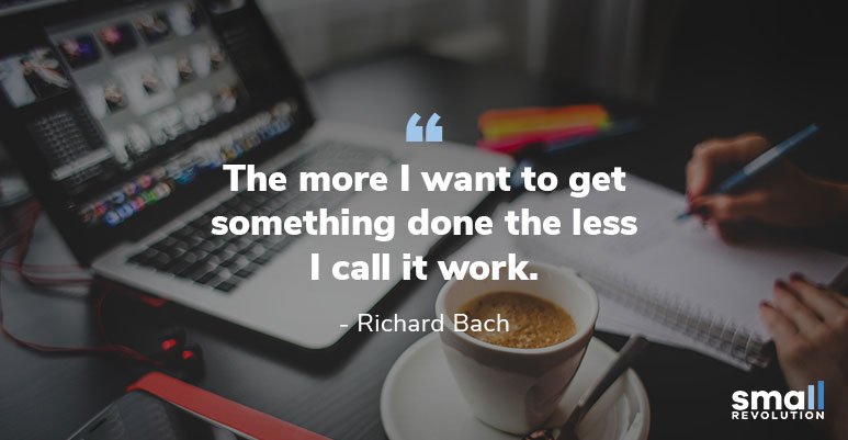 Richarcd Bach inspirational quote