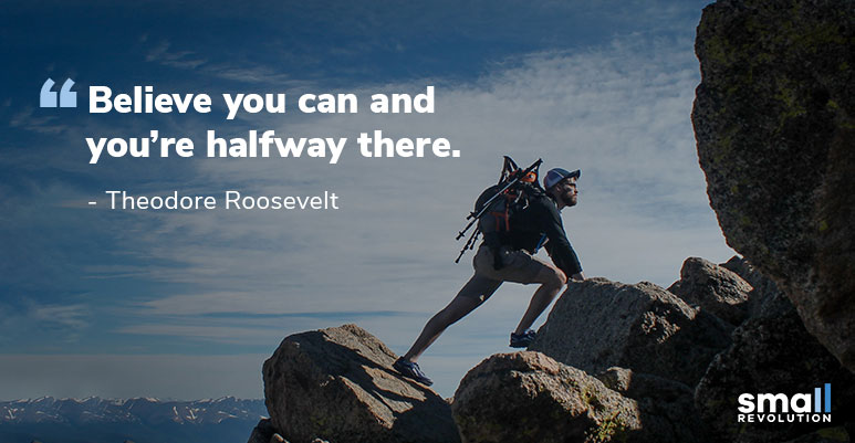 Theodore Roosevelt inspiration quote