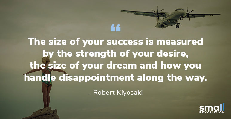Robert Kiyosaki inspirational quote