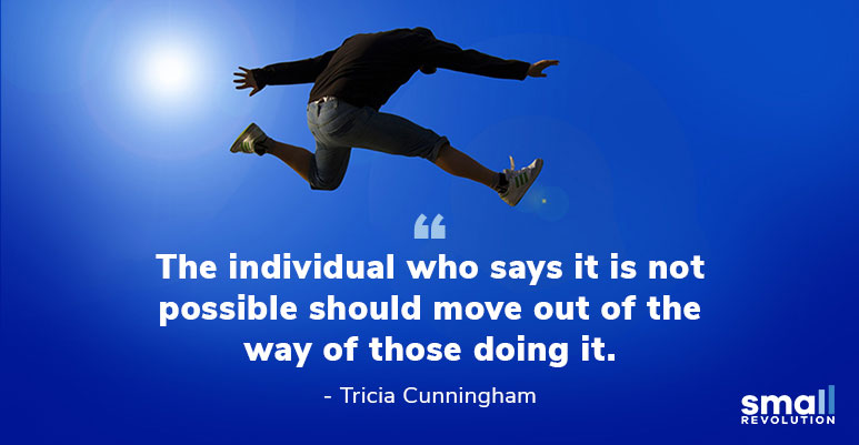 Tricia Cunningham inspirational quote