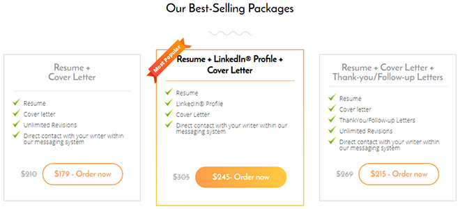 Best-Selling Packages