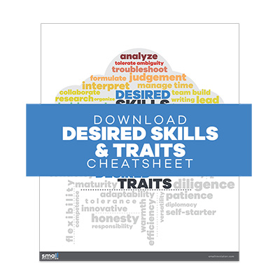 Desired Skills Traits