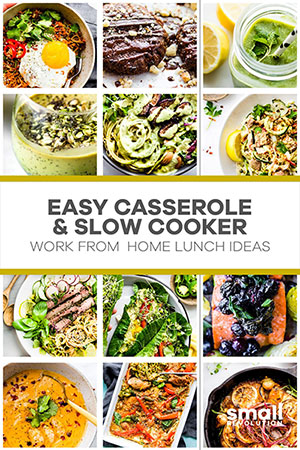 Easy casserole cooker lunch ideas