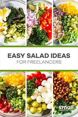 Easy freelancers salad ideas