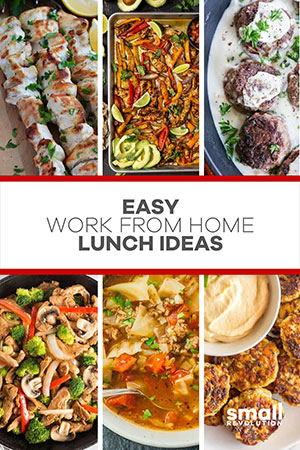 Easy home lunch ideas
