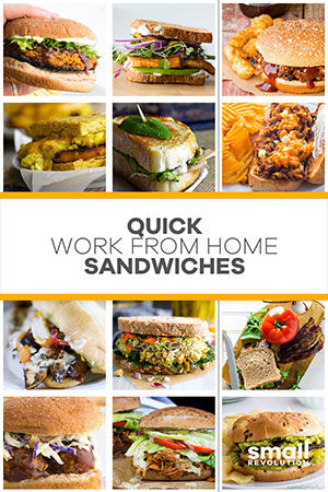 Quick work home sandwiches