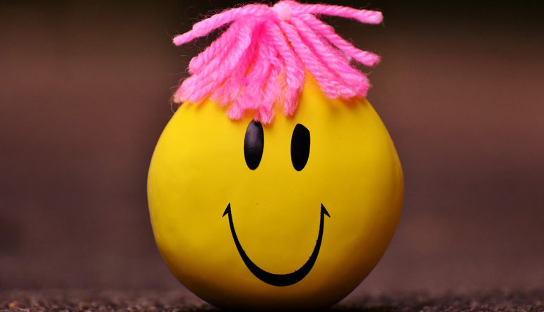 color yellow anti stress ball