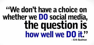 social media quote by Erik Qualman