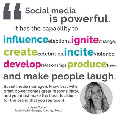 social media quote by Jess Cohen