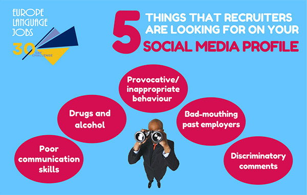 5 things recruiters look for on social media