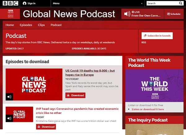 BBC News Global Podcast 24/7
