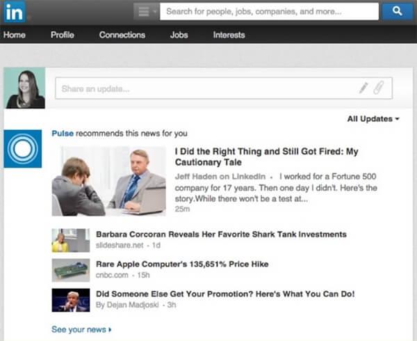 LinkedIn Pulse Daily News
