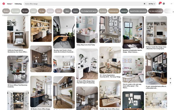 different home office designs