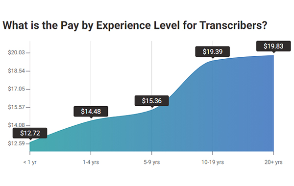 Experience Level for Transcribers