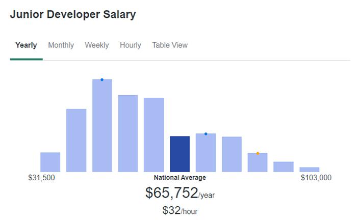 Junior Developer Salary