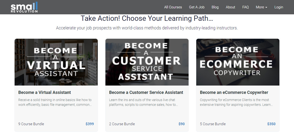 Take Action! Choose Your Learning Path