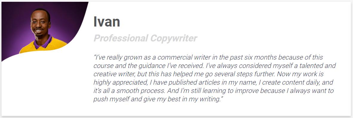 Ivan Professional Copywriter