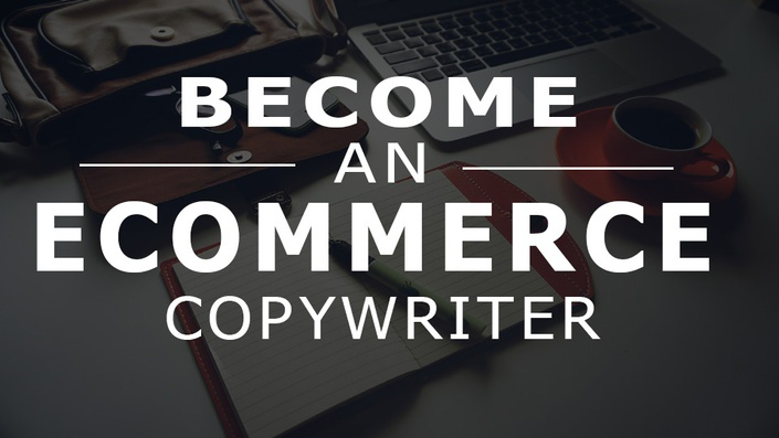 E-commerce copywriting course by Small Revolution poster